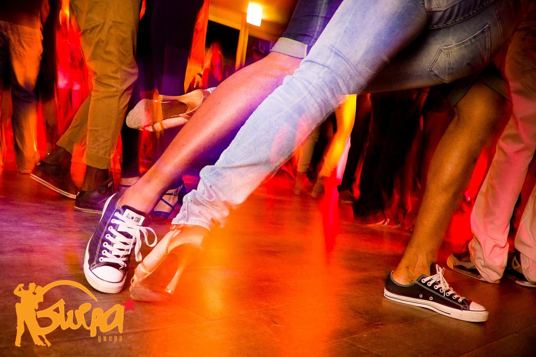 Happy dancing feet