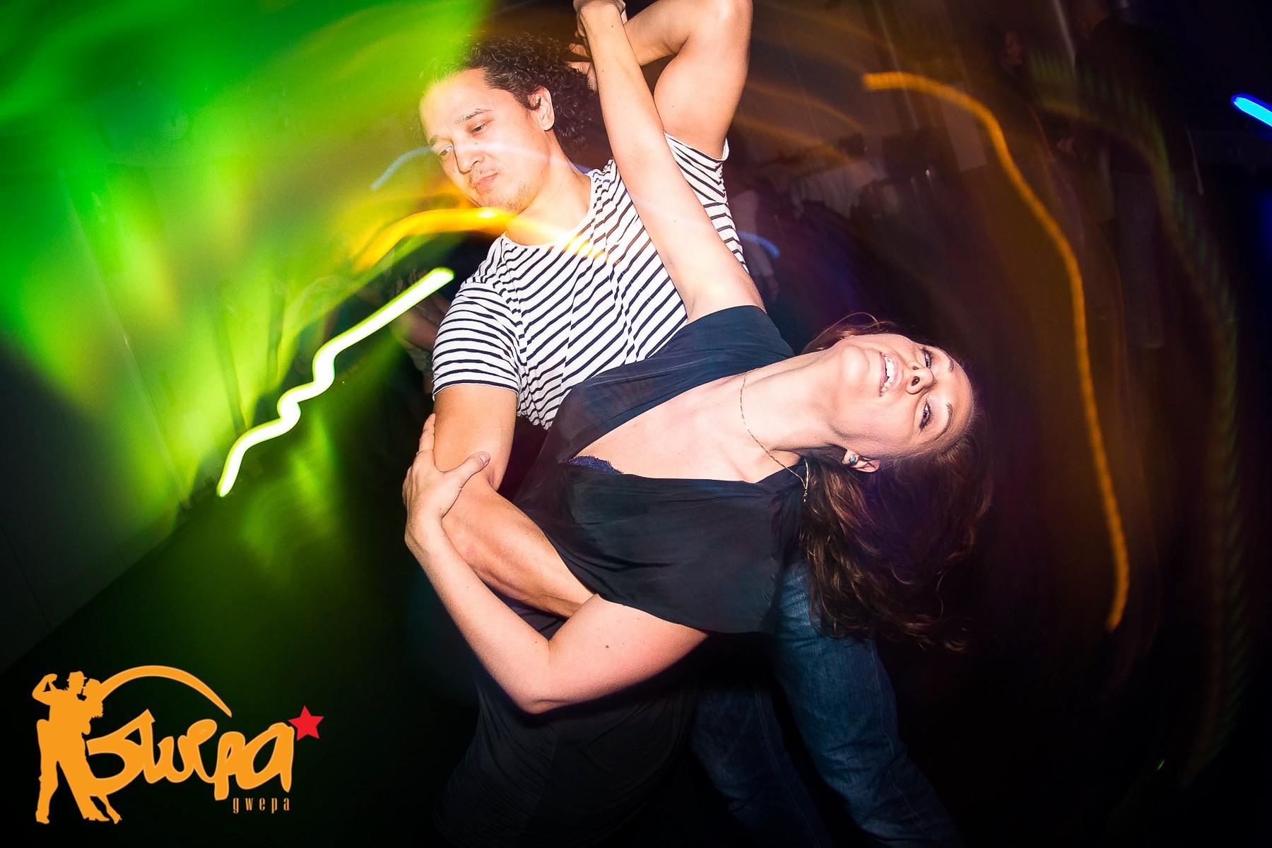 Passionate salsa Dancer