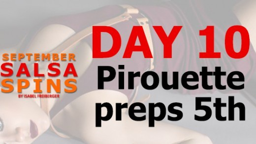 Day 10 - Salsa Lady styling - Piroutte Preps 5th- FB Share