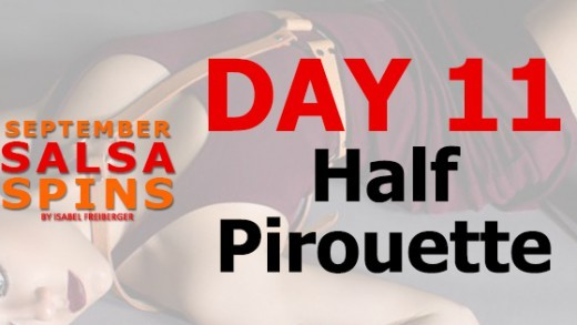 Day 11 - Salsa Lady styling - Half Piroutte - FB Share