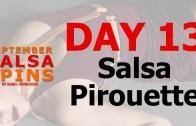 Day 13 – Salsa Piroutte – Gwepa Salsa Spins