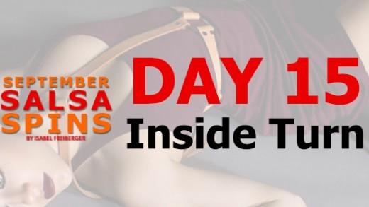 Day 15 - Inside Turn - Gwepa Salsa Spins