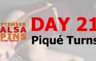 Day 21 – Travel Turn – Gwepa Salsa Spins
