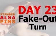 Day 23 – Fake-out Turn – Gwepa Salsa Spins