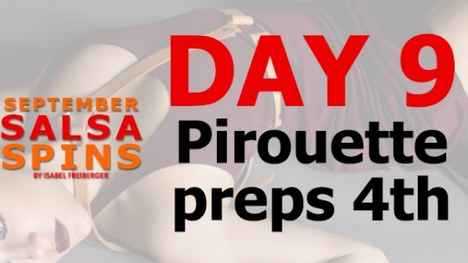 Day 9 - Salsa Lady styling - Piroutte Preps 4th- FB Share