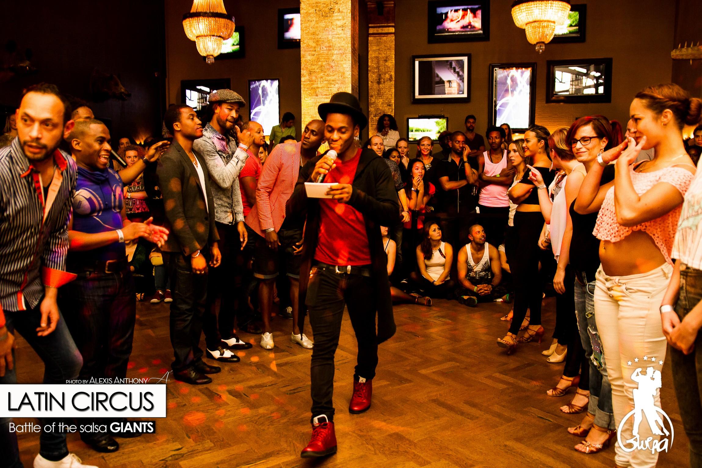 Latin Circus Battle of the Salsa Giants    11 Oct 2015