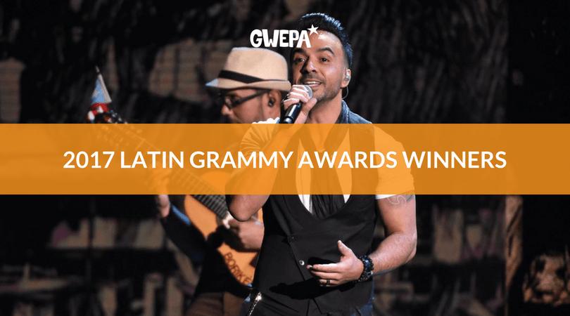 2017 Latin GRAMMY Awards Winners