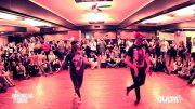 Samy & Carolina – Bachata footwork demo
