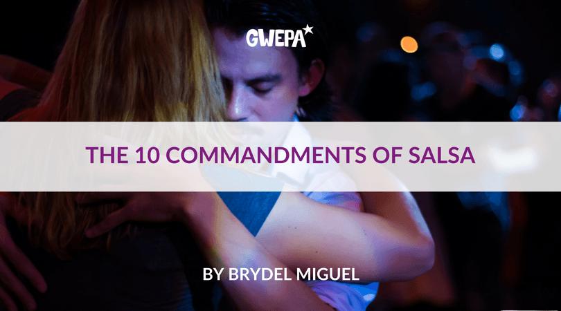 The 10 Commandments of Salsa